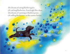Blueberry Bear Book Poem Page