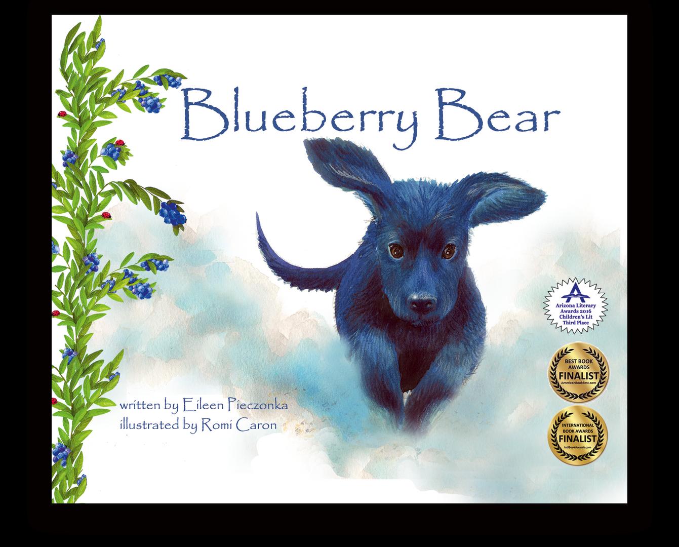 Blueberry Bear Children's Book