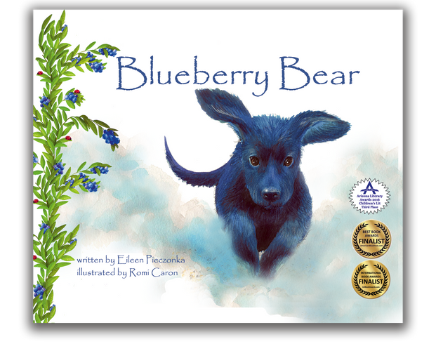 Blueberry Bear Children's Book