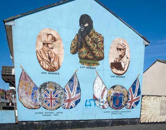 John Butler: Mural in Belfast