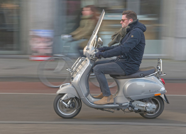 Declan Conaghan: Amsterdam Moped