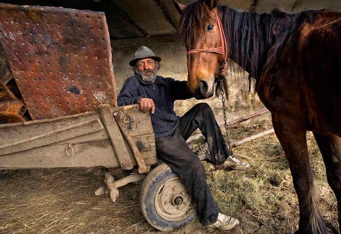 Des Clinton:  Man and Horse