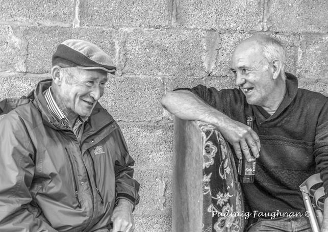 Padraig Faughnan: A Good Chat
