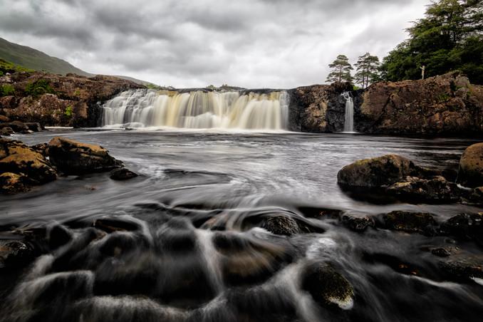 Yvonne Crawley: Aasleagh Falls