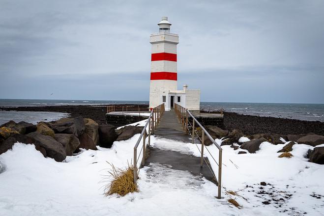 Tom O'Doherty: Iceland Lighthouse