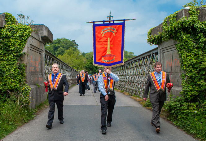Eric O'Neill: Orangemen Crossing the Boyne