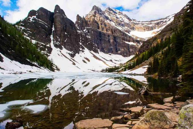 Gerry Fitzgerald: Lake Agnes, Alberta, Canada