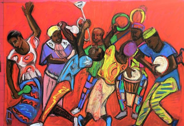 African Music £620 ( framed)