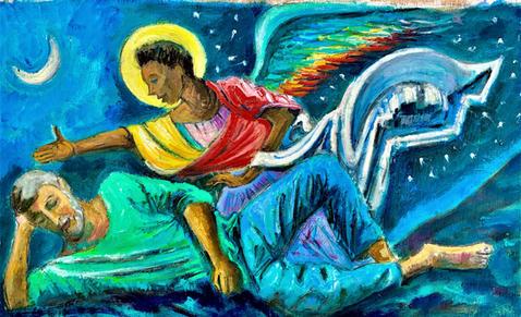 Joseph's  Dream ( unframed) £300