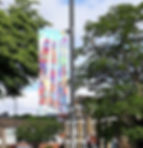 Number 3 Bus Banner