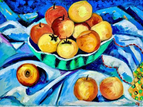Autumn Apples ( £500) framed
