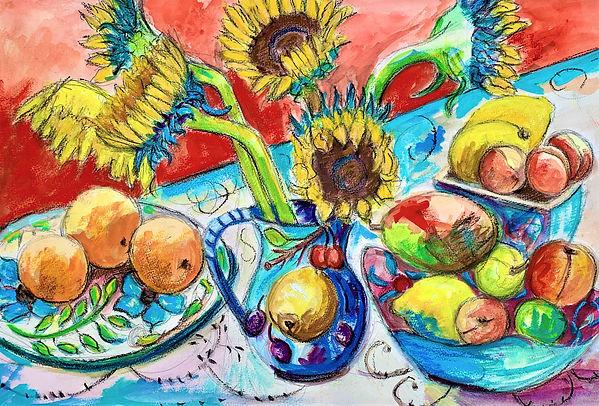 Sunflowers and  Fruit.jpg