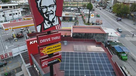 Kentucky Fried Chicken Solar Power Rooftop Projects (Philippines)