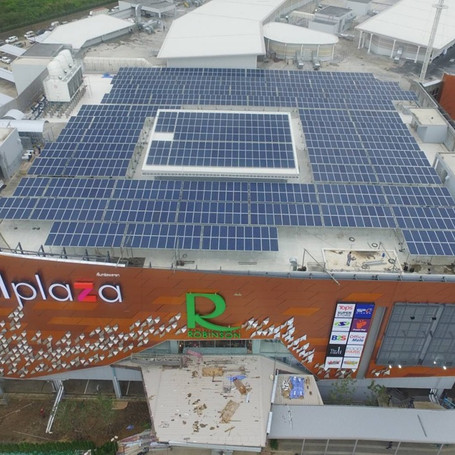 Robinson Department Store Solar Power Rooftop Project (Thailand)