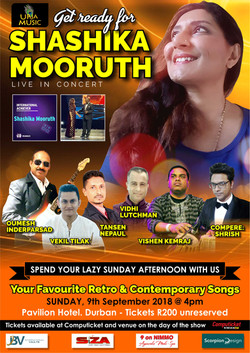 IN CONCERT WITH SHASHIKA MOORUTH