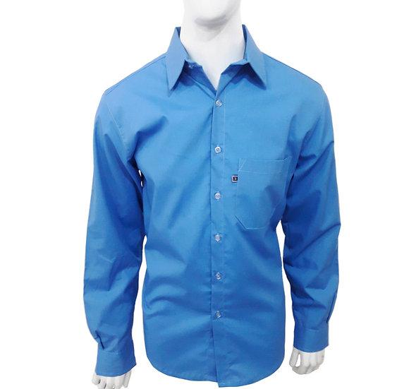 Camisa social masculia manga longa