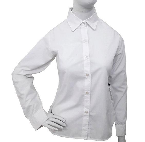 Camisa social feminina manga longa