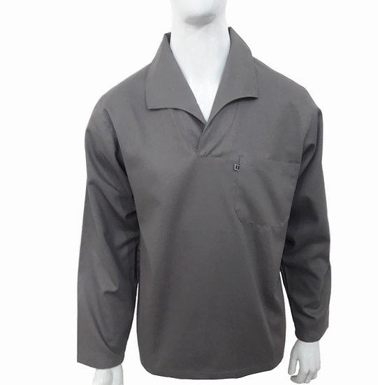 Camisa Gola Italiana Manga Longa