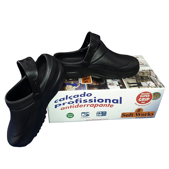 Sapato profissional Soft works