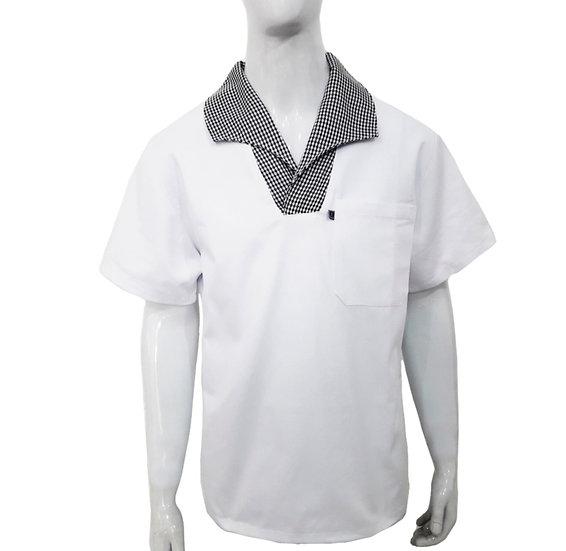 Camisa gola italiana cheff