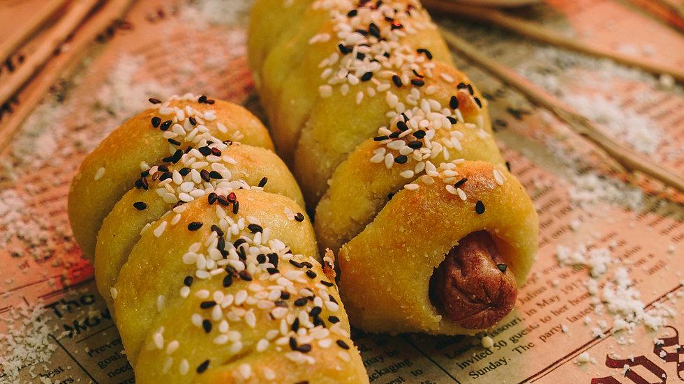 生酮熱狗卷 Keto Hotdog Roll
