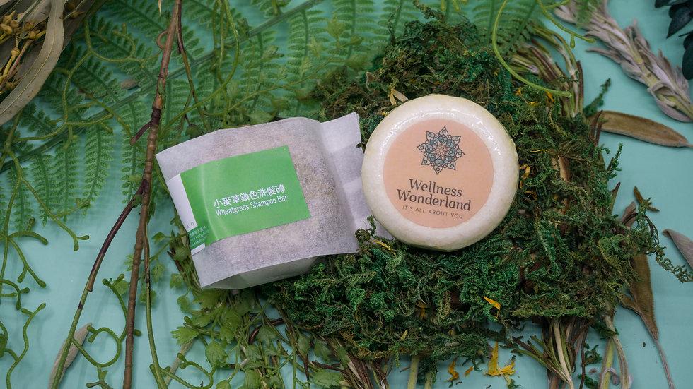 小麥草鎖色洗髮磚 Wheatgrass Shampoo Bar