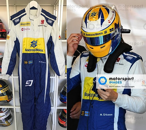 Race suit 2016 Marcus Ericsson Sauber F1 Team