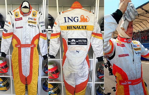 Race suit 2009 Romain Grosjean Renault F1 Team