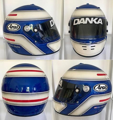 Original helmet Arai 1998 Mika Salo Danka Zepter Arrows by JMD