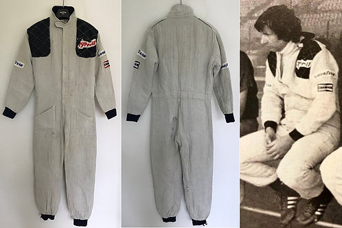 Race suit 1979 Jean-Pierre Jarier Tyrrell F1