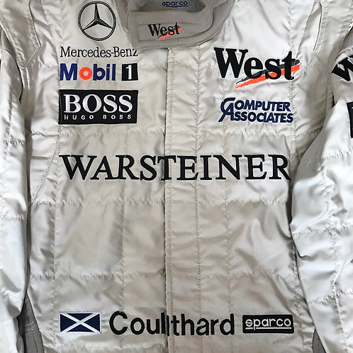 Race suit 1998 David Coulthard West McLaren Mercedes