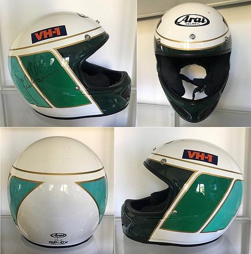 Race helmet Arai 1995 David Brabham BTCC Signed BMW