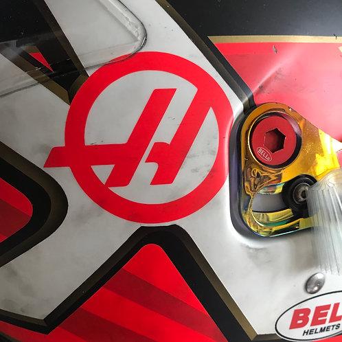 Race helmet Bell HP77 Kevin Magnussen 2019 Haas F1 Team