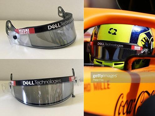 Race visor 2021 Lando Norris McLaren F1 Team Bahrain