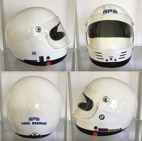 Original race helmet GPA SJ circa 1980 BMW