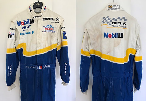 Race suit 1999 Dany Snobeck Opel Trophée Andros