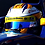 Thumbnail: Race helmet Bell HP7 EVO Marcus Ericsson 2016 Sauber Russian GP Signed
