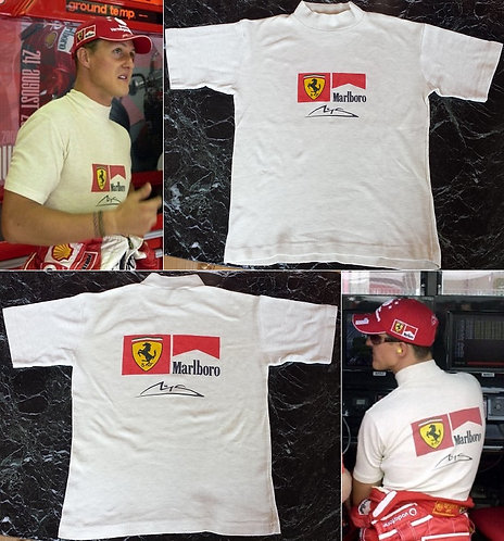 Race nomex 2003 Michael Schumacher Scuderia Ferrari
