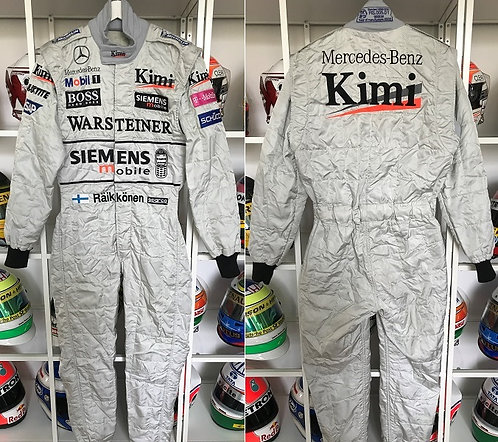 Race suit 2003 Kimi Raikkonen West McLaren Mercedes