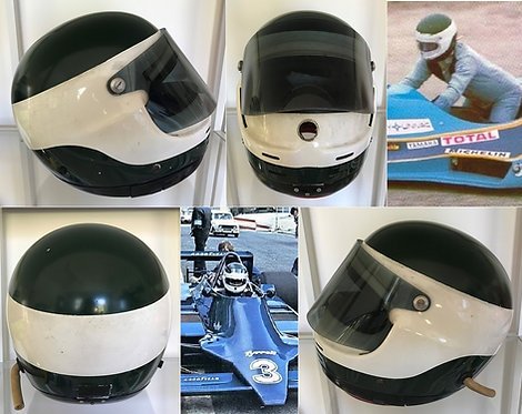 Race helmet GPA 1978 Jean-Pierre Jarier Tyrrell