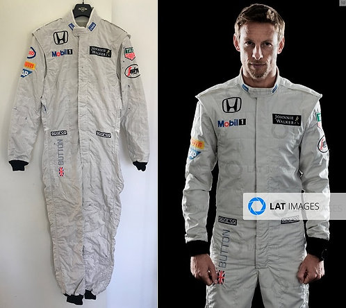 Race suit 2015 Jenson Button McLaren Honda