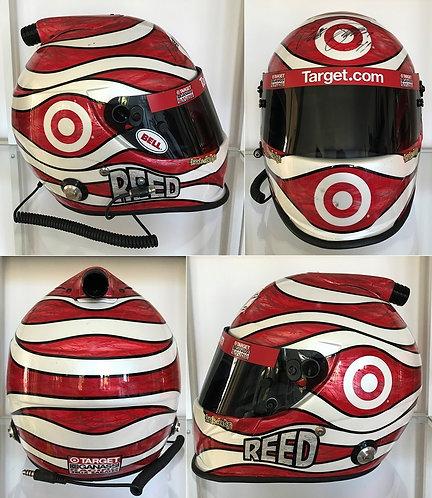 Race helmet 2007 Reed Sorenson Chip Ganassi Racing Target Signed