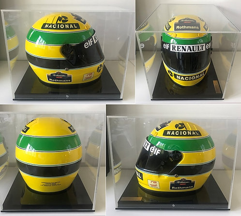 Official Bell replica helmet 1994 Ayrton Senna Williams-Renault n°70/1000
