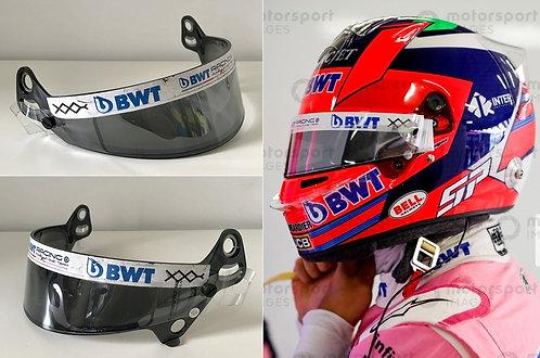 Race visor 2020 Sergio Perez BWT Racing Point F1 Team