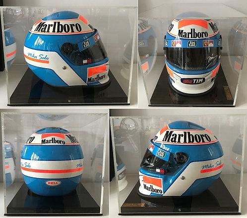 Official Bell replica helmet 1999 Mika Salo Scuderia Ferrari Signed n°3/15