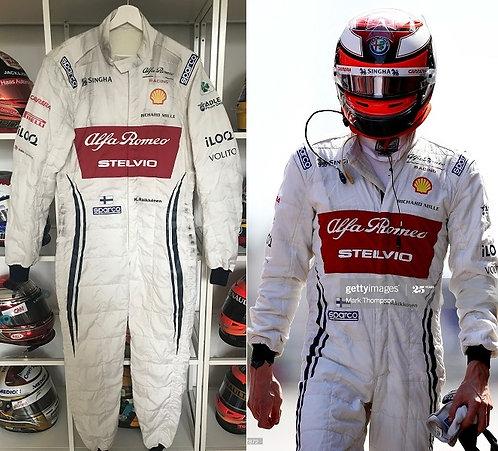Race suit 2019 Kimi Raikkonen Alfa Romeo Racing