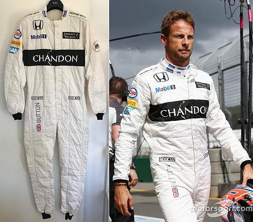 Race suit 2016 Jenson Button McLaren Honda