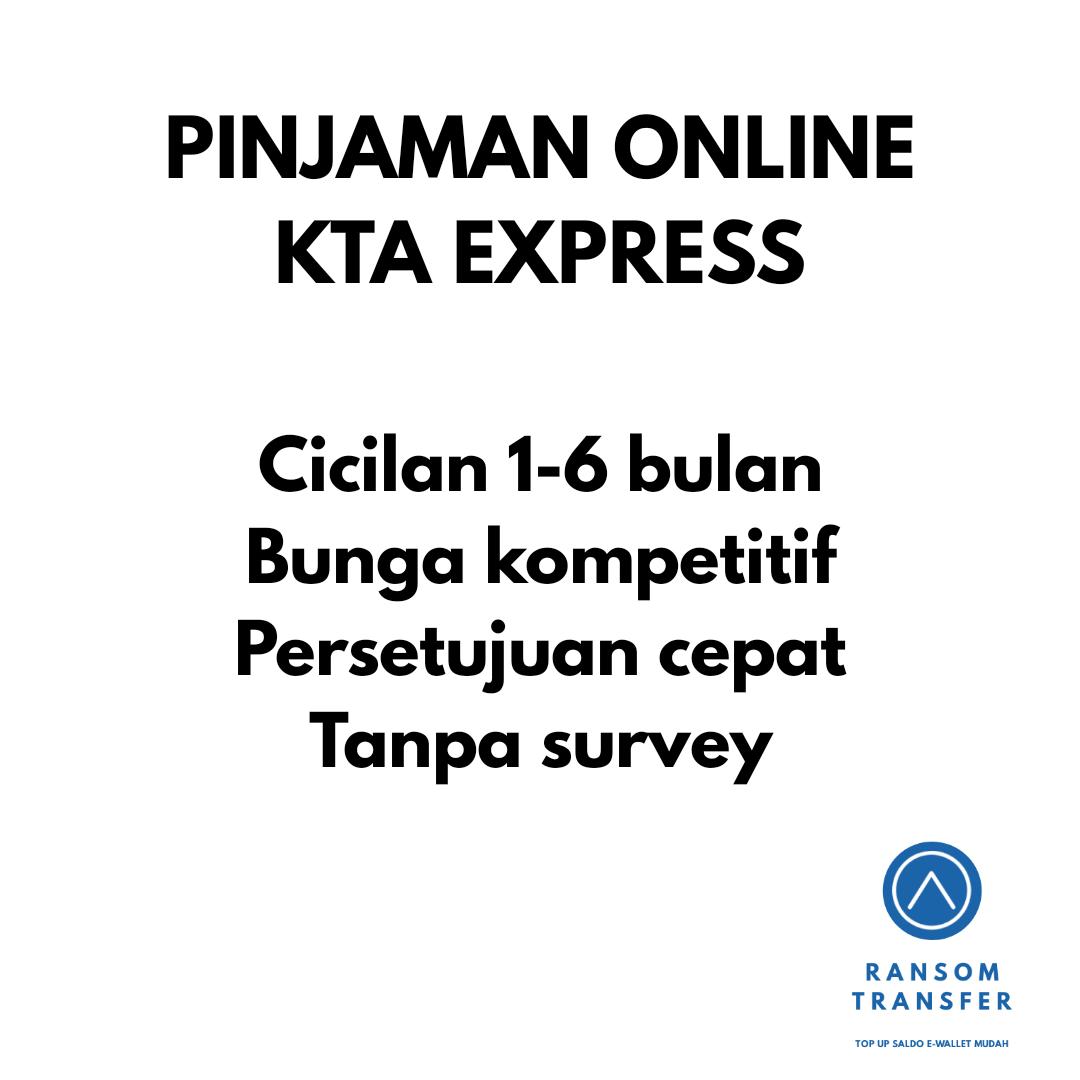 PINJAMAN ONLINE KTA EXPRESS