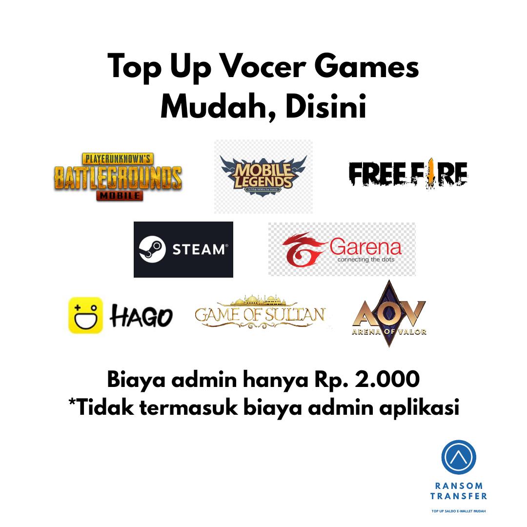 TOP UP VOCER GAMES