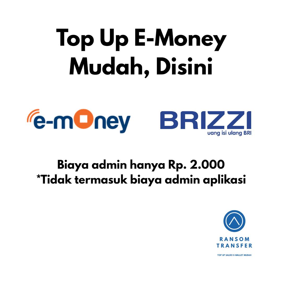 TOP UP E MONEY